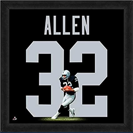 new style 93e73 ff65a Amazon.com: Oakland Raiders Marcus Allen #32 Players Jersey ...