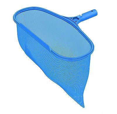 Ultra Durable Pool Spa Leaf Skimmer Net Rake w/ Deep Pocket Net