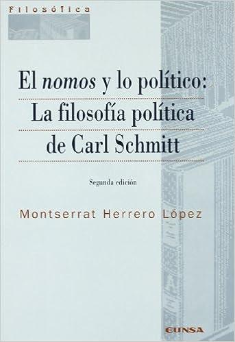 Book El nomos y lo pol?tico