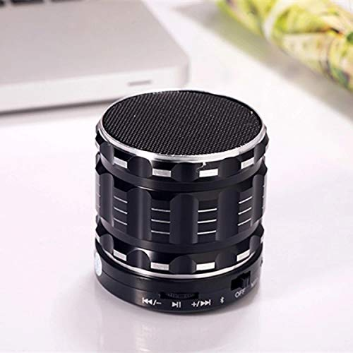 Altavoz inalámbrico Bluetooth Cannon de metal con subwoofer ...