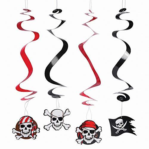 Fun Express Pirate Hanging Swirls - 12 Pieces]()