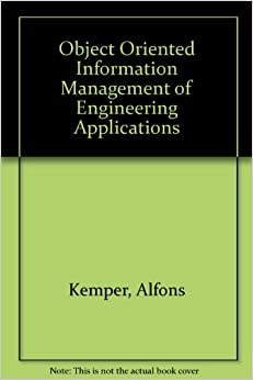 Book Object Oriented Information Management of Engineering Applications