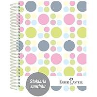 Faber-Castell 5075400502 Sert Kapak Sep.3+1+1 Puantiye Defter, 200 Yaprak