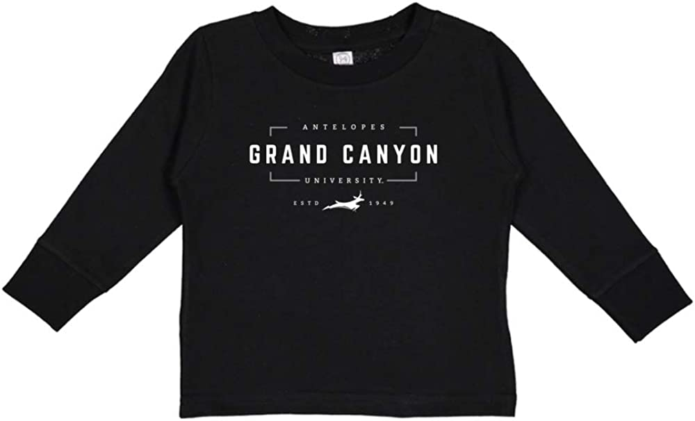NCAA Grand Canyon GCU Lopes 1704CY08 Toddler Long-Sleeve T-Shirt