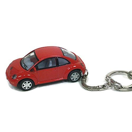 VW Beetle Keychain New Red Beetle BlingMyBug