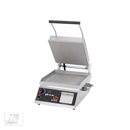 "Table Top King star (GR14E) - 20"" Smooth Pro-Max Sandwich Grill"