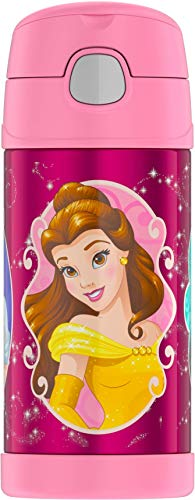 Thermos Funtainer 12 Ounce Bottle, Disney Princesses (Bottle Princess Disney)