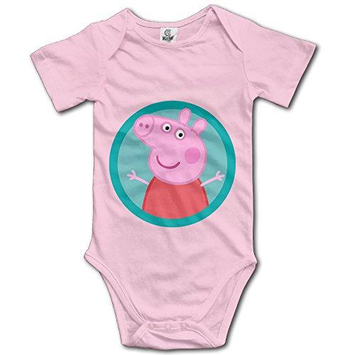 Cute Cartoon Peppa Pig Cute Baby Onesie Bodysuit