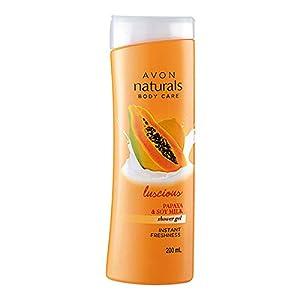 Avon Naturals Papaya Whitening Shower Gel 200ml