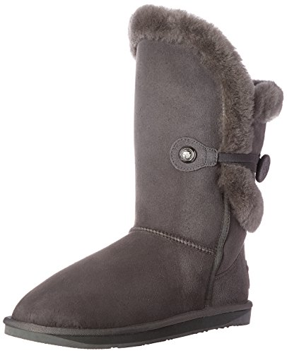 Australia Luxe Collective Womens Nordic Angel Short Shearling Sheepskin Boot Grey