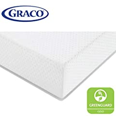 The Graco Premium Foam Crib & Toddler Bed Mattress is the best mattress choice for your newborn, infant, or toddler. Awarded the 2020 Women's Choice Award for 9 out of 10 Customer Recommended Crib & Toddler Mattress, the Graco Premium...