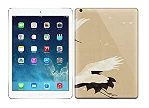 Durable Defender Case For Ipad Air Tpu Cover(Two Cranes)