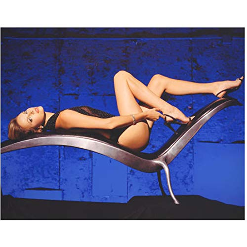 Charlize Theron Lying Back Long Bare Legs Exposed Looking Sexy Side Profile Shot 8 x 10 Inch - Legs Bare Long