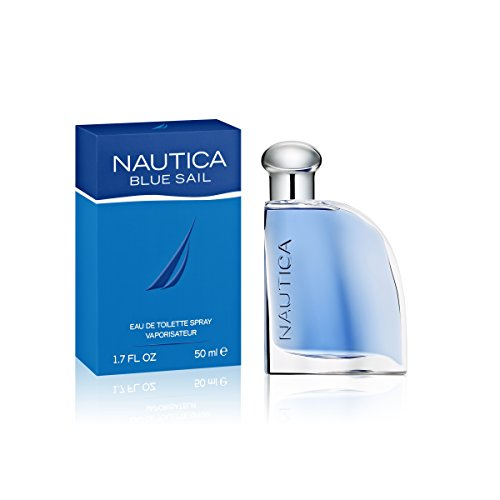 Nautica Blue Sail Eau de Toilette for Men, 1.7 Fluid - Spray Gift Nautica Set