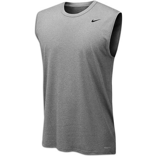 (Nike Legend Dri-Fit 2.0 Men's Sleeveless Tank Top Gray Size XL )