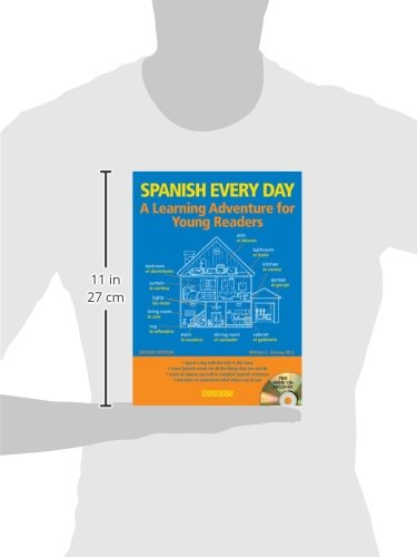 Spanish Every Day with Audio CDs: A Learning Adventure for Young Readers by Barron's Educational Series (Image #2)