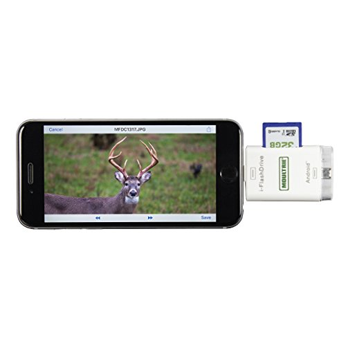Moultrie Feeders Smart Phone SD card reader SKU: MCA-13193