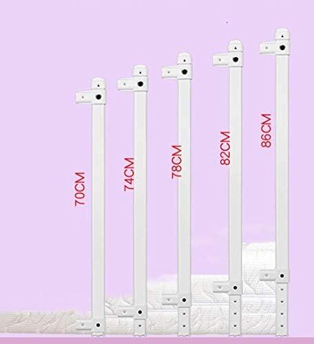 ベッドレール3つのサイズブルーピンクレールガード、幼児や子供のための単一のガードベッドガード、頑丈でポータブル安全床は、脱落防止ベッドサイド高さ調節可能なレールを支援します (Color : Pink, Size : 1.5m)