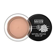 Lavera Natural Mousse Make Up Cream Foundation - # 04 Almond 15g/0.5oz