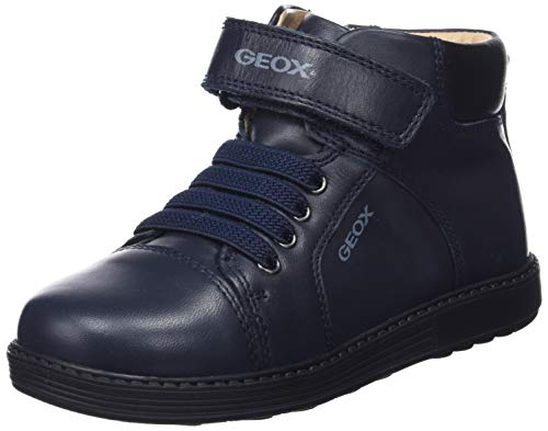 Geox Hynde Boy 1 Insulated Bootie Ankle Boot, Dark Navy, 26 Medium EU Toddler (9 US) (Geox Boots For Boys)