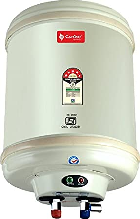 Candes 6 L Stainless Steel Electric Water Heater(Off-White)