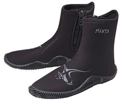 New AERIS 5.0mm Heavy Duty Zipper Manta Boots for Scuba Diving & Watersports (Size 13/14-3X-Large) - Aeris Boot