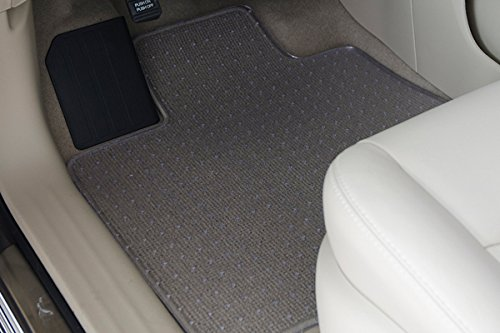 2013-2016 Toyota Sienna Minivan (8 Passenger) ExactMats Clear Mats (Full Car Set Includes - Floor Mats 1st and 2nd Row with Cargo Liner - Seats Up ()