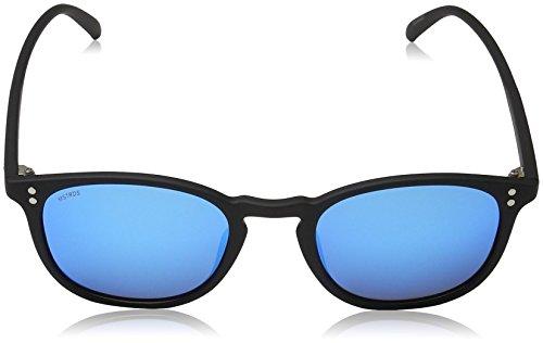 MSTRDS Arthur Lunettes Mixte Soleil Black Noir Blue de rrq7d58