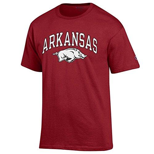 Apparel Arkansas Razorback - Elite Fan Shop Arkansas Razorbacks Tshirt Varsity Cardinal - L