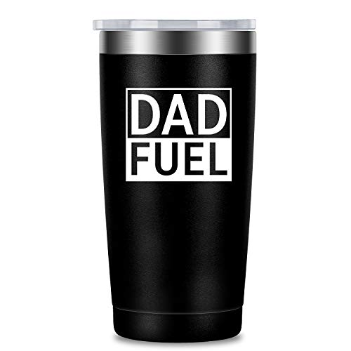 LEADO 20 oz Stainless Steel Vacuum Insulated Tumbler with Lid and Straw, Large Travel Coffee Mug for Hot Cold Drink, Funny Novelty Cup Cute Unique Gift for Birthday, Valentines, Mother's Father's Day ()