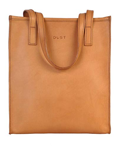 4e2d776fe966 Dust Women s Leather Tote Bag - DU105 (Vacchetta Natural)