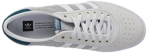 sports shoes 22ef9 67ccc real Premiere Teal Solid Lucas Grey White Originals mgh Uomo Adidas wOU8v8