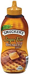 Smucker\'s  Sugar Free Breakfast Syrup, 14.5-Ounce (Pack of 6)
