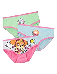 Paw Patrol Girls' Skye and Everest Underwear Pack of 3