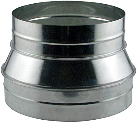 Duct Collar Air Tight 6 Inch for Connecting Flex Ducting