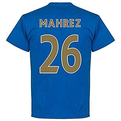Discount Retake Leicester City Mahrez Team Tee - Royal supplier