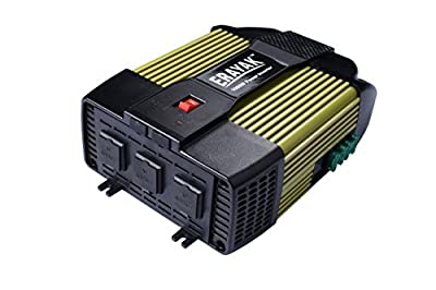 Cartman 110V AC outlets and USB 2.1A 150w power inverter, car DC 12V to 110V AC inverter, laptop charger notebook USB adapter
