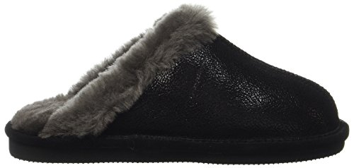 Schwarz Open Women's Mering Giesswein Black Slippers Back wTvYfxnfq