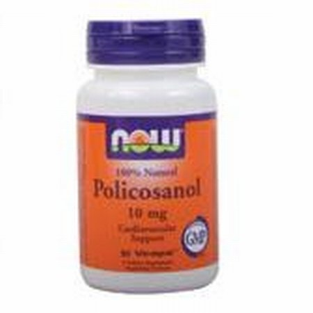 NOW Foods POLICOSANOL 10MG VCAPS