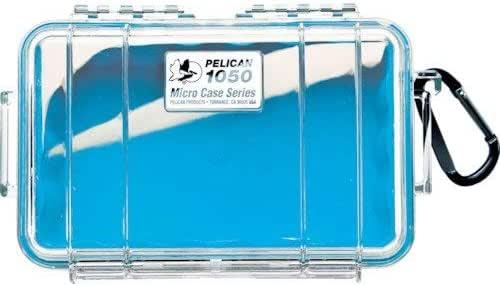 Pelican Micro Case 1050 (estuche impermeable | caja seca) (enchapado): Amazon.es: Electrónica