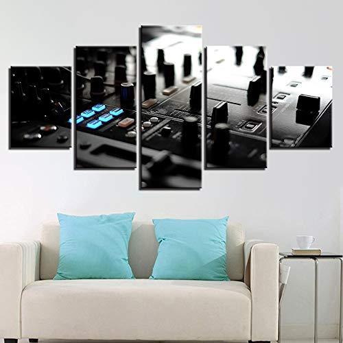 mmwin Lienzo Posters Wall Art Work HD Prints Fotos 5 Unidades ...