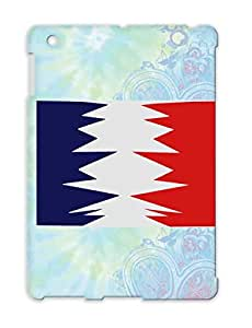TPU Silver Case Cover For Ipad 2 French Flag Saw Drapeau France Franais Scie Countries Flags Mad Cities