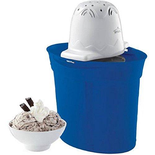 Rival Frozen Delights 4 Quart Ice Cream Maker - Navy Blue (Rival 4qt Ice Cream Maker)