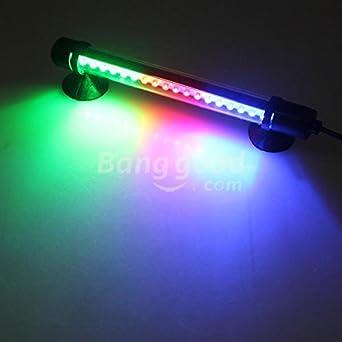 PhilMat 18 LED bar pecera lámpara de la tira impermeable sumergible 100-240v: Amazon.es: Iluminación