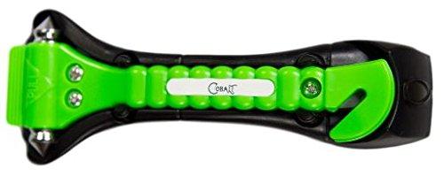(Cobalt Car Hammer - Original Auto Escape Tool - Vital Life-Saving Rescue Gadget -Seatbelt Cutter & Window Breaker for Emergency Preparedness)