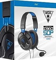 Turtle Beach Recon 50P Fone De Ouvido Com Fio, Preto - Playstation 4