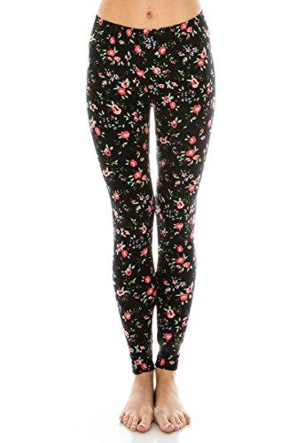 a028fbdd4d63d5 ALWAYS Women Printed Soft Leggings - Super Soft Strech at Amazon Women's  Clothing store: