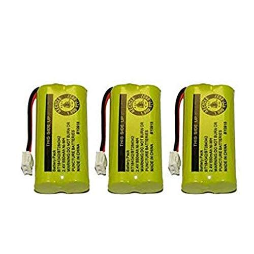 Replacement Battery for AT&T BT8001 / BT8000 / BT8300 / BT184342 / BT284342 / 89-1335-00 / 89-1344-01 / BATT-6010 / CPH-515D (3-Pack, Bulk Packaging)