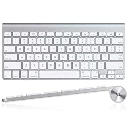 Apple Bluetooth Wireless Keyboard (MC184LL/A) (Retail Packaging)