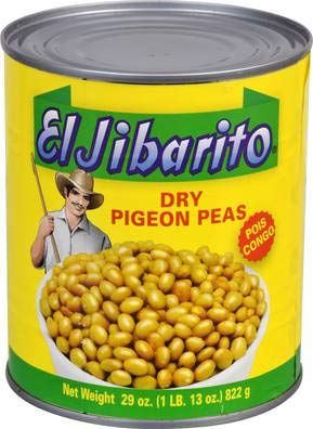 Goya Foods Elhombre Vegetable Pigeon Peas Jack in the Box, 29-Ounce (Pack of 12) by Goya